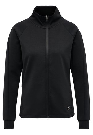 HMLESSI - Zip-up hoodie - black