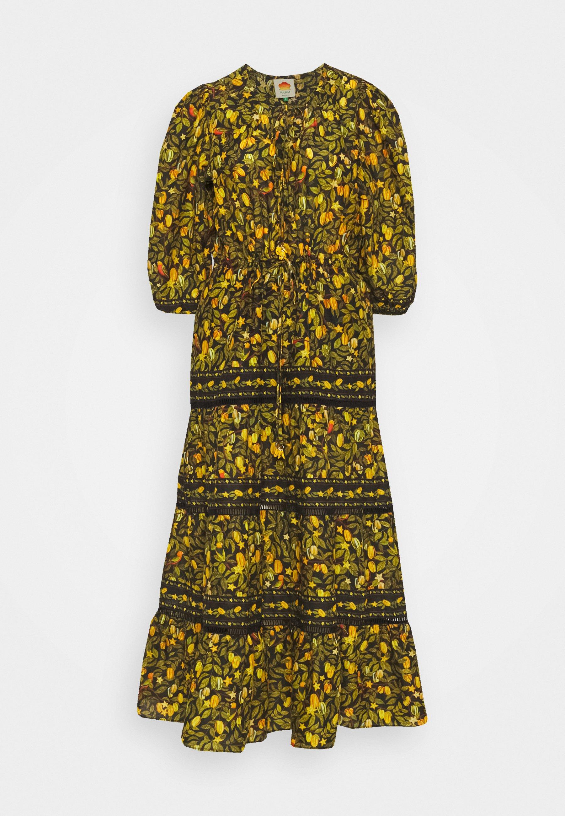 Women STAR FRUITS MAXI DRESS - Day dress