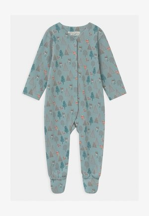 YSIOR RETRO BABY FOOTED  - Sleep suit - blue