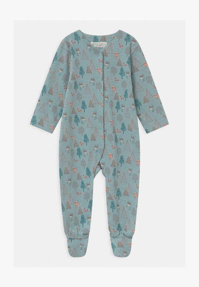YSIOR RETRO BABY FOOTED  - Pijama de bebé - blue