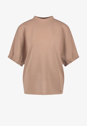 MIT WEITEM KURZARM - Basic T-shirt - jura marble