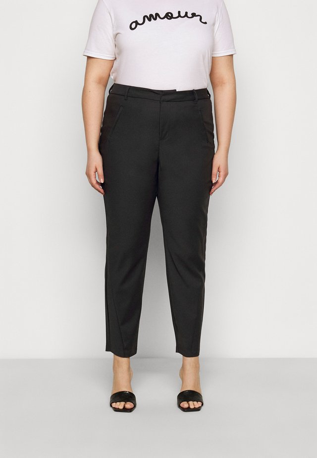 VMVICTORIA ANTIFIT ANKLE PANTS - Pantaloni - black