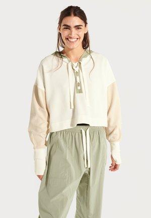 HALLE BERRY NAKANO HOODY - Sweater - white