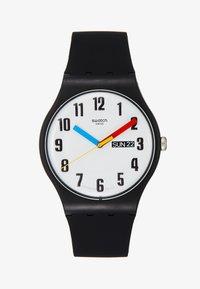 Swatch - ELEMENTARY - Horloge - schwarz - 1