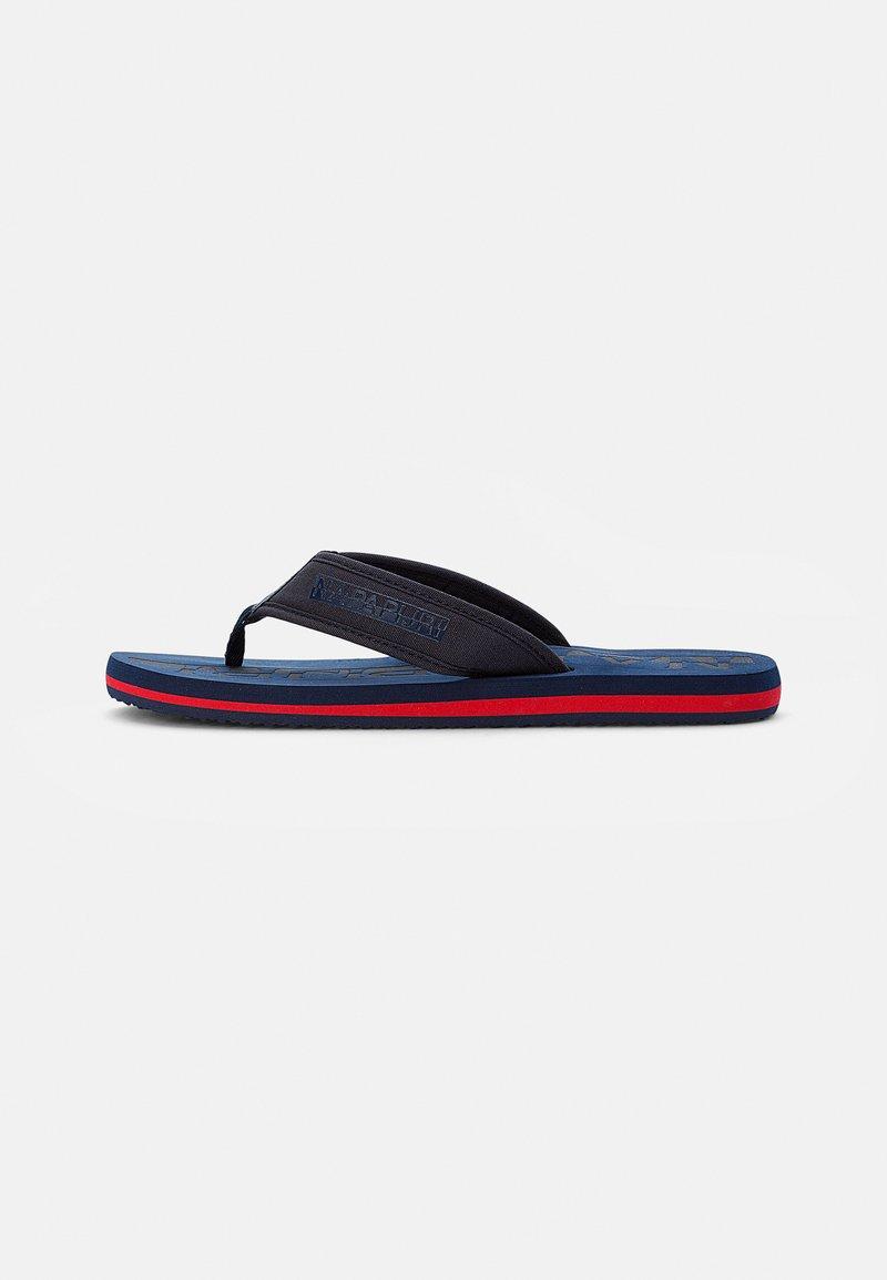 Napapijri - T-bar sandals - blue marine