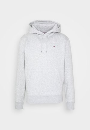 REGULAR FLEECE HOODIE - Huppari - grey heather
