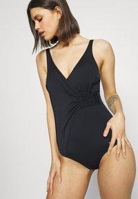 LASCANA - SWIMSUIT - Swimsuit - black - 3