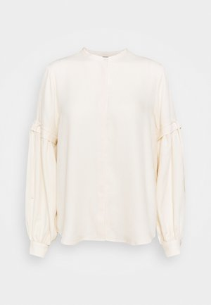 PRALENZA CINE SHIRT - Button-down blouse - white cream