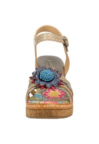 LAURA VITA - High heeled sandals - grey - 6