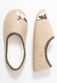 Tom Joule - SLIPPET - Pantuflas - cream - 3