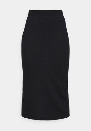 RENE - Pencil skirt - navy