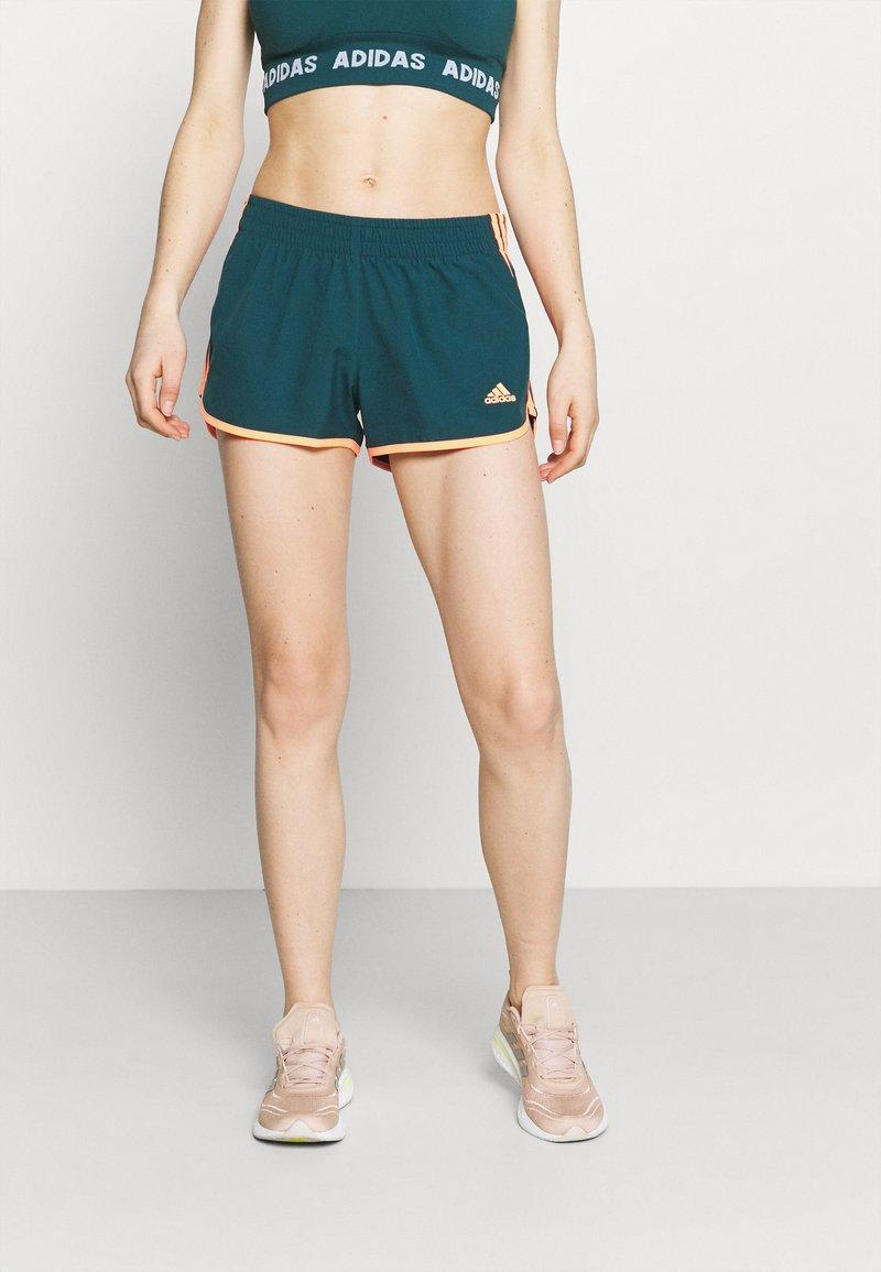 adidas Performance - M20 SHORT - Pantaloncini sportivi - wild teal/screaming orange