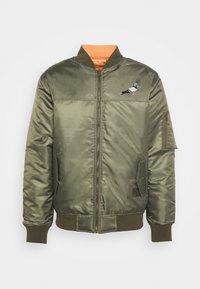 STAPLE PIGEON - REVERSIBLE UNSIEX - Bomber Jacket - olive - 4