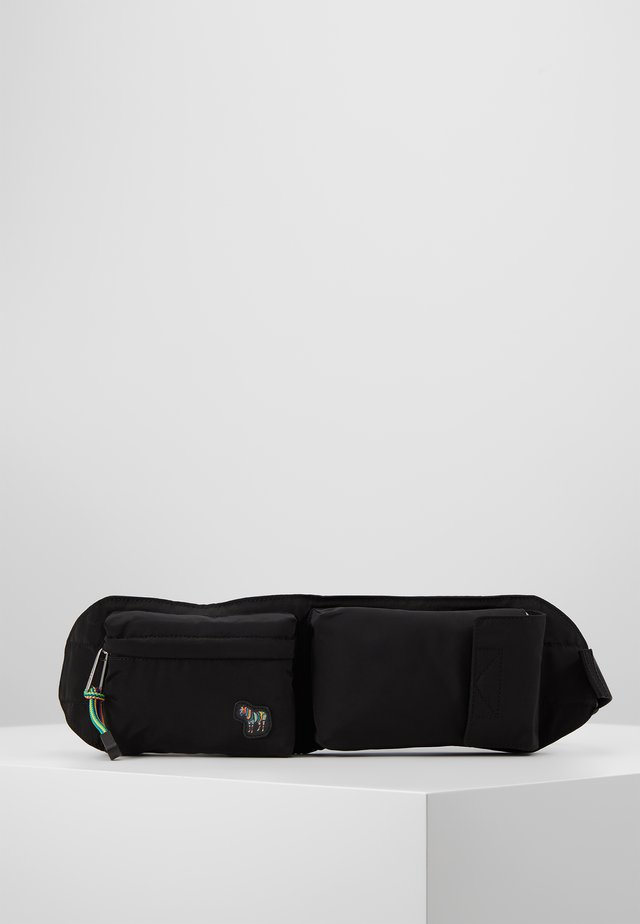 MENS BAG BELTBAG - Across body bag - black