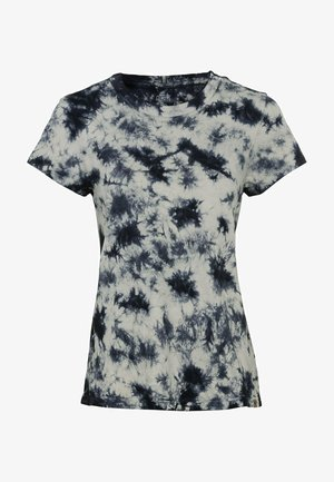 Print T-shirt - black sand
