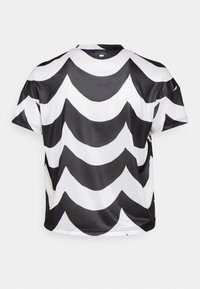 adidas Performance - MARIMEKKO TEE - Sportshirt - black/white - 1