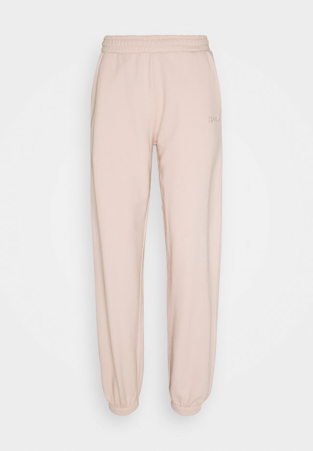 DOCTOR PANTS - Tracksuit bottoms - rosewater