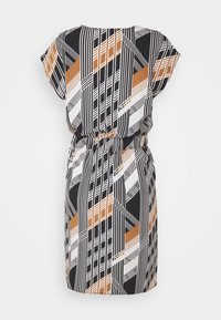 ICHI - BRUCE - Day dress - black print - 1