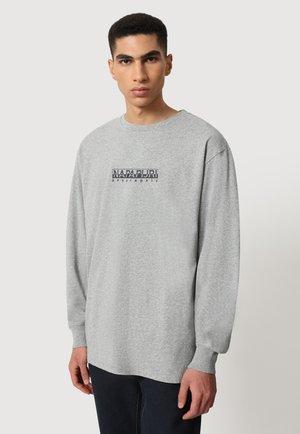 S-BOX LS - Longsleeve - medium grey melange