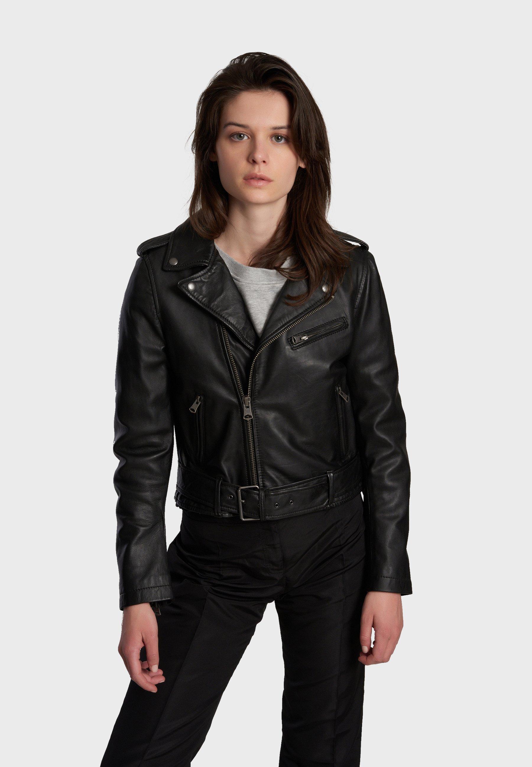 Women RADIO - Leather jacket