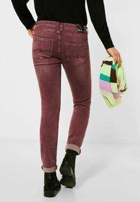 Street One - Straight leg jeans - rot - 2