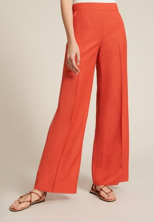 Trousers - arancio