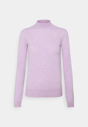 MOCKNECK PUFF SLEEVE - Jumper - lavender