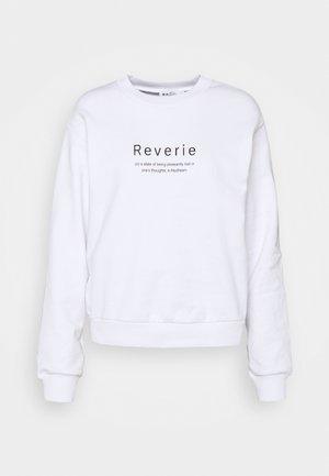 REVERIE  - Felpa - white