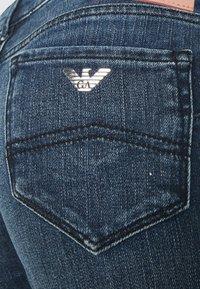 Emporio Armani - FIVE POCKETS PANT - Jeans Skinny Fit - denim blue - 2
