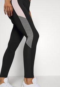 New Look - COLOUR BLOCK - Leggings - mid pink - 4