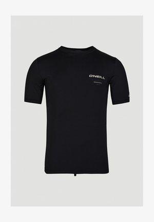 ESSENTIAL - Rash vest - black out