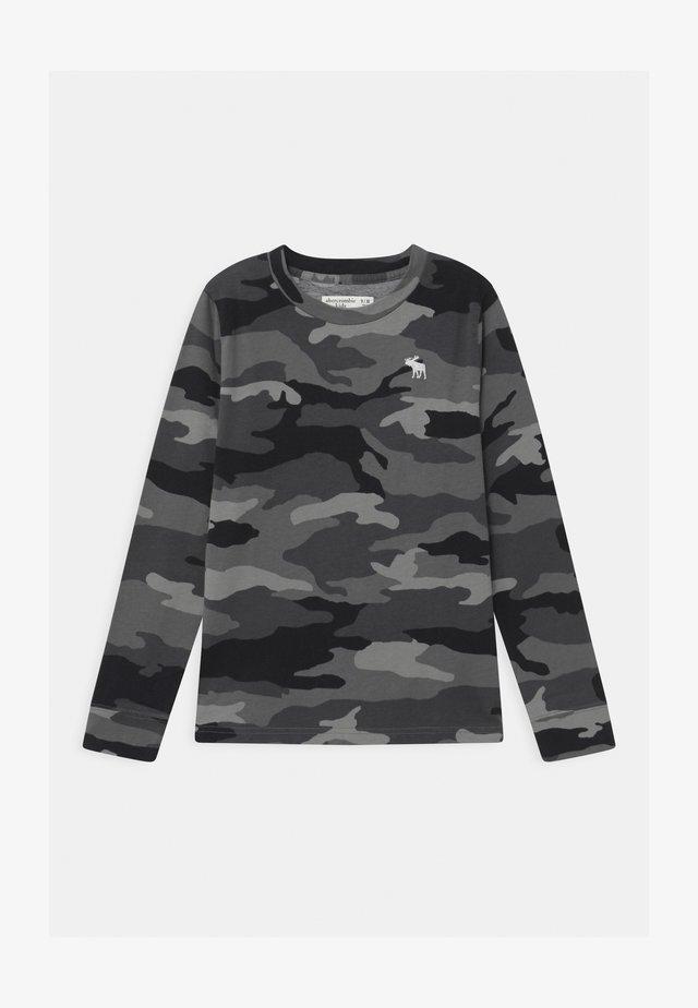 PATTERN - Långärmad tröja - black