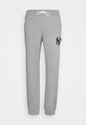 MLB NEW YORK YANKEES CUFF PANTS - Fanartikel - grey melange