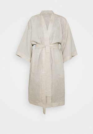 ROBE - Dressing gown - undyed beige