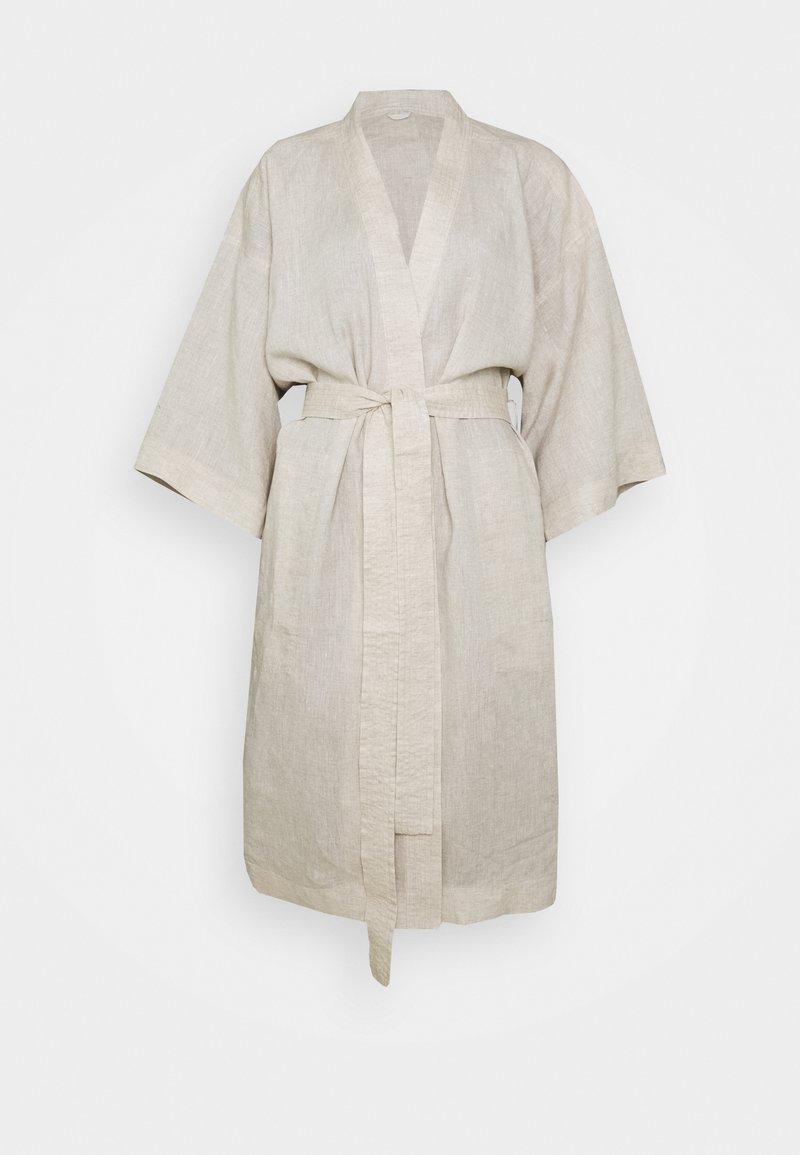 ARKET - ROBE - Dressing gown - undyed beige