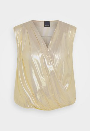 INES BODY GEORGETTE - Blouse - gold
