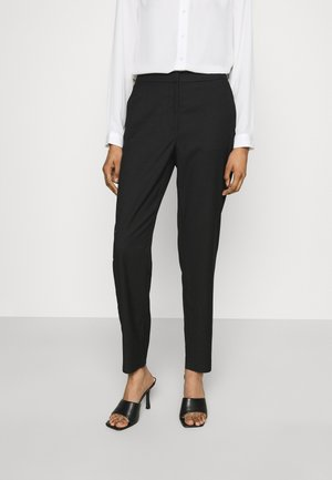 VMJANE MR TAP ANKLE SOLID PANT - Trousers - black