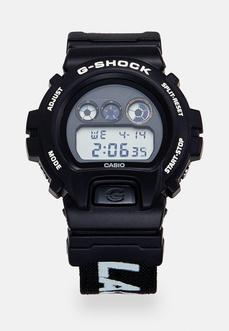 G-SHOCK - X PLACES FACES - Digital watch - black
