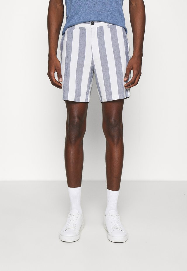 BAXTER STRIPE - Shorts - sargasso sea multi