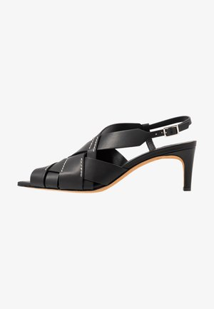 NINA  - Sandaalit nilkkaremmillä - black