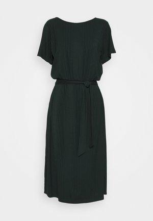 OBJCELIA DRESS - Jersey dress - scarab