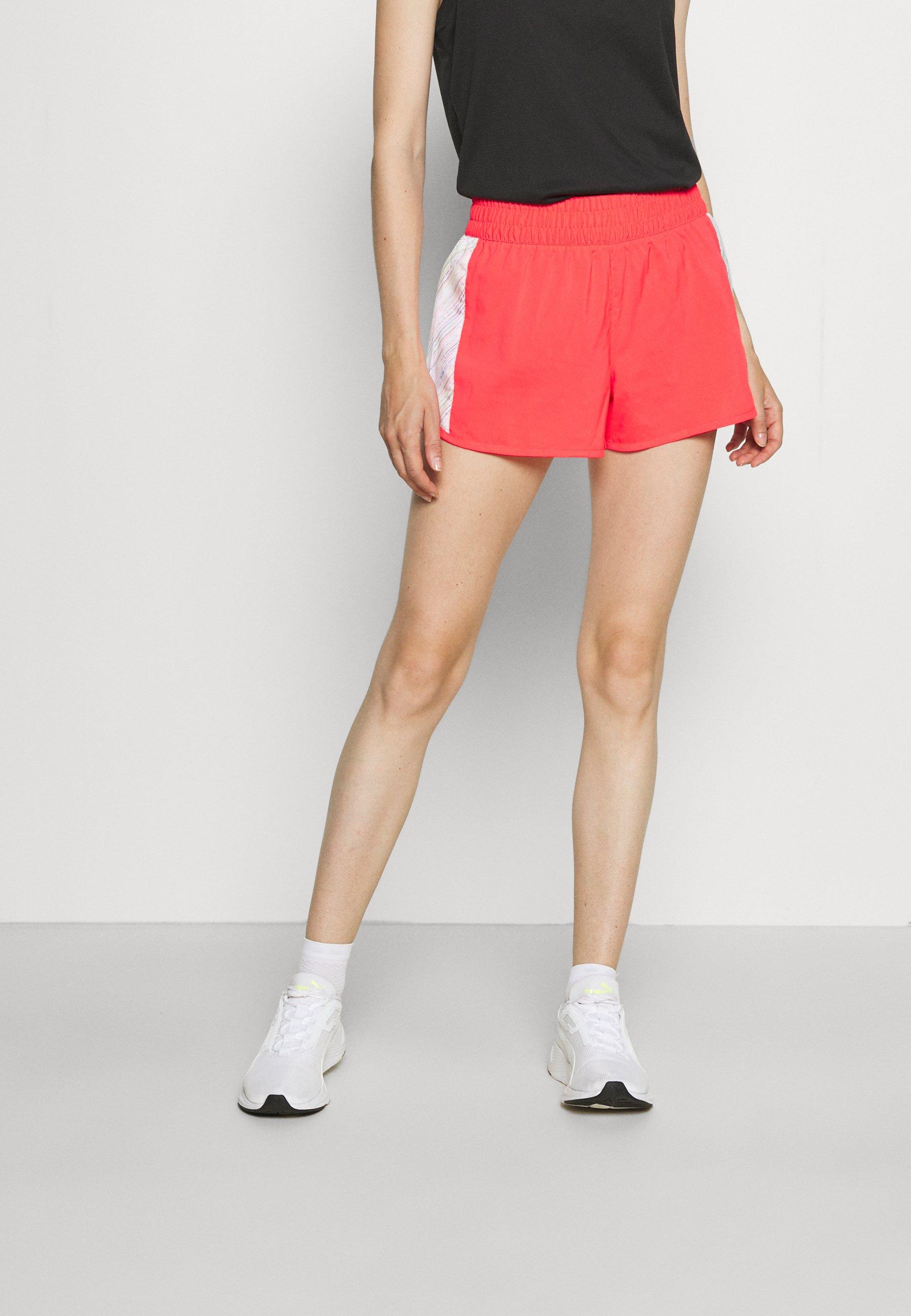 Damen RUN GRAPHIC SHORT - kurze Sporthose