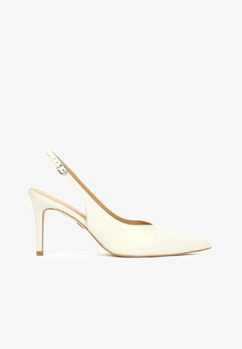 MARION - Classic heels - Off-white