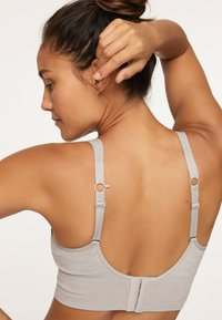 OYSHO - Sports bra - grey - 2
