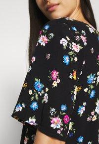 Even&Odd - Day dress - black/pink - 3