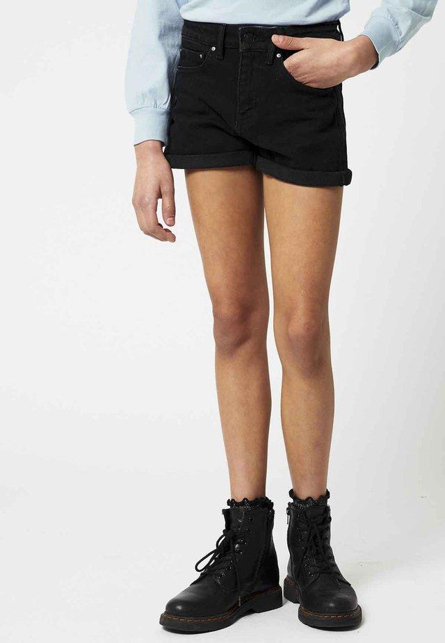 LUCY JR - Jeansshort - washed black