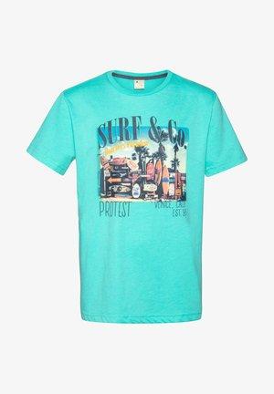 ERIK JR - Print T-shirt - ocean breeze