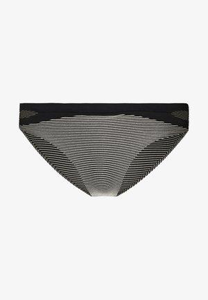 VIBRANT SLIP - Bikini bottoms - black