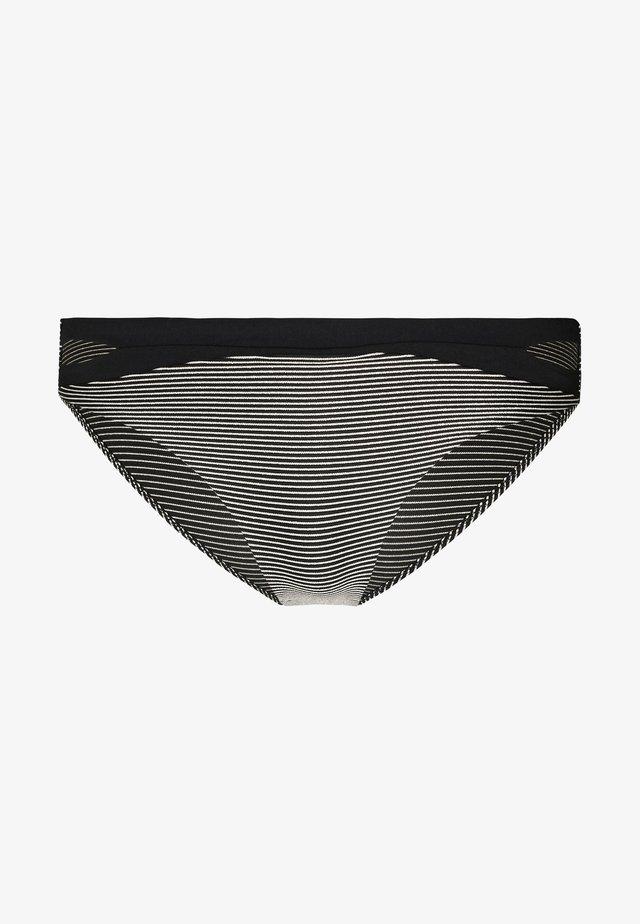VIBRANT SLIP - Braguita de bikini - black
