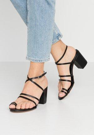 MOCHI - Sandály na vysokém podpatku - black